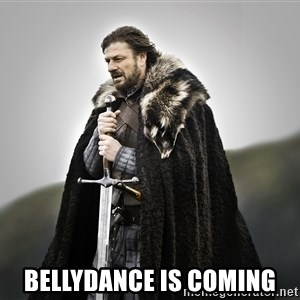 ned stark as the doctor -  BELLYDANCE IS COMING