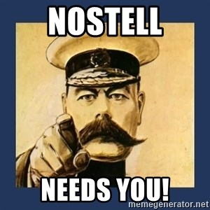 your country needs you - Nostell Needs You!