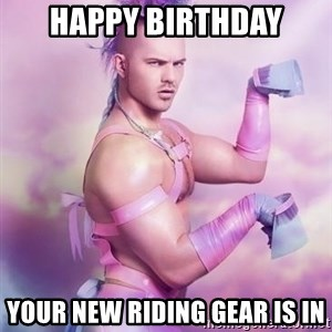 Unicorn Boy - Happy Birthday Your new riding gear is in