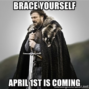 ned stark as the doctor - Brace Yourself April 1st is coming