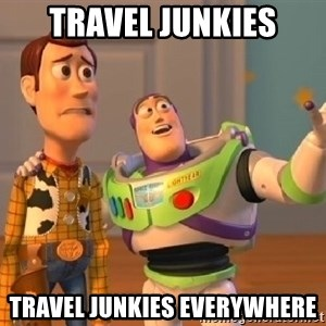 Toy Story Buzz and Woody - Travel junkies travel junkies everywhere