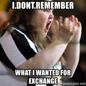 Screaming Fatty - I.DONT.REMEMBER WHAT I WANTED FOR EXCHANGE