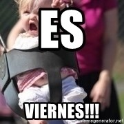 little girl swing - Es  Viernes!!!