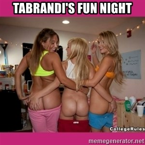 3 Lesbians Showing And Fingering Their Ass - Tabrandi's Fun Night