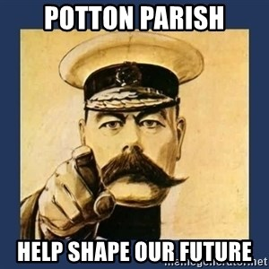 your country needs you - Potton Parish Help shape our future