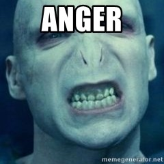 Angry Voldemort - Anger