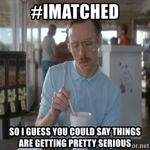 so i guess you could say things are getting pretty serious - #imatched so i guess you could say things are getting pretty serious