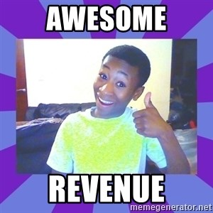 Well Done! - Awesome  Revenue
