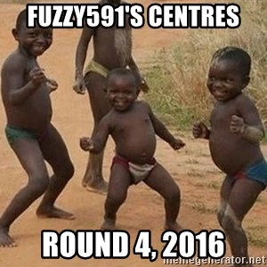 Dancing African Kid - Fuzzy591's centres Round 4, 2016