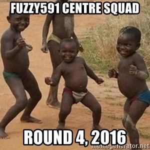 Dancing African Kid - Fuzzy591 centre squad Round 4, 2016