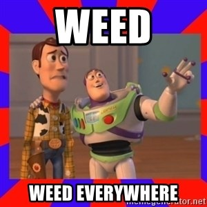 Everywhere - Weed Weed everywhere