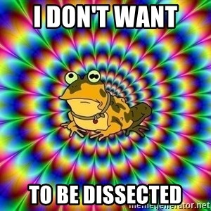 hypno toad - i don't want  to be dissected