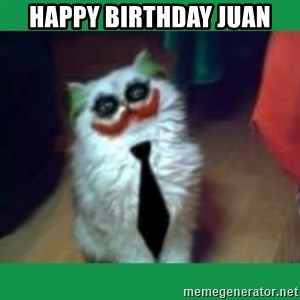 It's simple, we kill the Batman. - Happy Birthday Juan