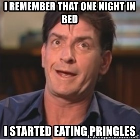 Sheen Derp - i remember that one night in bed i started eating pringles