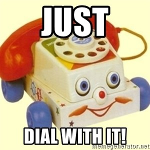 Sinister Phone - Just Dial with it!