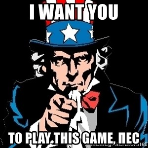 I Want You - I WANT YOU TO play this game, Пес