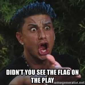 She's too young for you brah -  didn't you see the flag on the play