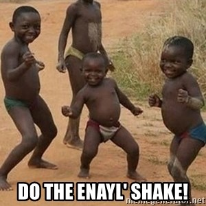 Dancing African Kid -  DO THE ENAYL' SHAKE!
