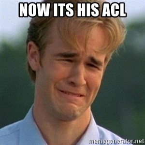 90s Problems - Now its his ACL