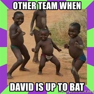 african kids dancing - Other team when David is up to bat
