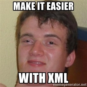 10guy - make it easier with XML