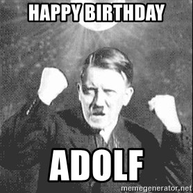 Disco Hitler - happy birthday adolf