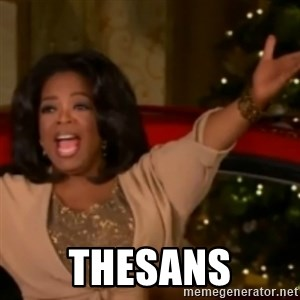 The Giving Oprah -  THESANS