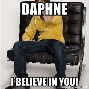 Justin Bieber Pointing - Daphne I Believe in you!