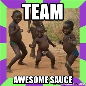 african kids dancing - Team  awesome sauce