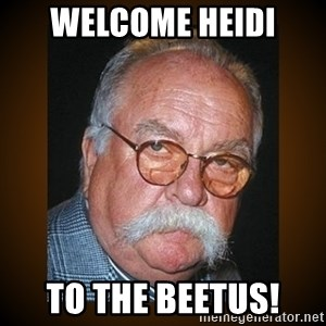Wilford Brimley - Welcome Heidi To the Beetus!