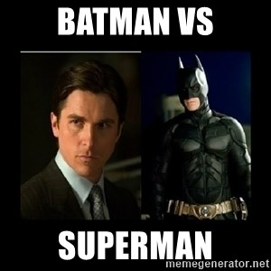 Batman's voice  - batman vs superman
