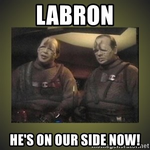 Star Trek: Pakled - Labron He's on our side now!