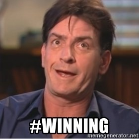 Sheen Derp -  #winning