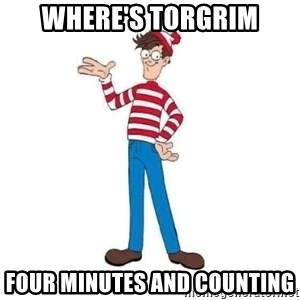 Where's Waldo - Where's Torgrim four minutes and counting