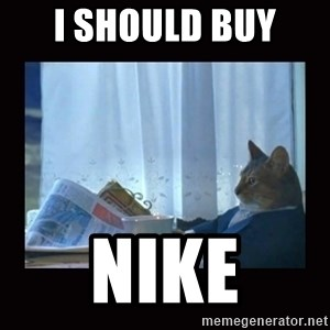i should buy a boat cat - i should buy  nike
