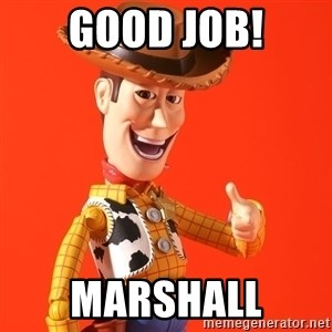 Perv Woody - Good Job! Marshall