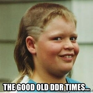 Haircut Boy -  The good old ddr times...
