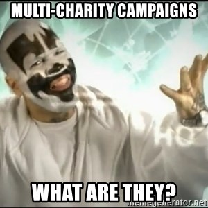 Insane Clown Posse - Multi-charity campaigns What are they?