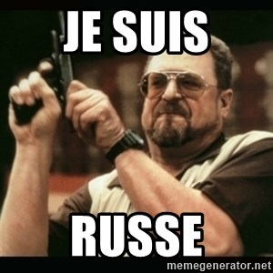 am i the only one around here - je suis russe