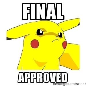 Pikachu - FINAL APPROVED