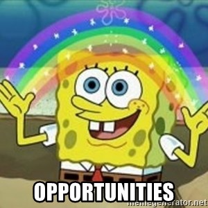 Bob esponja imaginacion -  opportunities