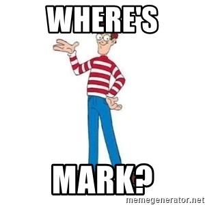 Where's Waldo - Where's Mark?