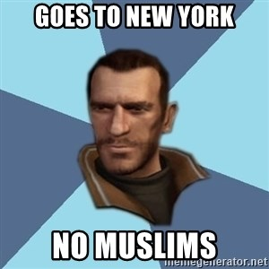 Niko - Goes to New York No Muslims