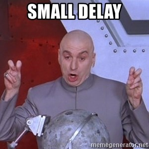 Dr. Evil Air Quotes - Small delay