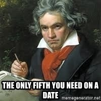beethoven -  The only Fifth you need on a date