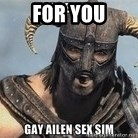 Skyrim Meme Generator - FOR YOU