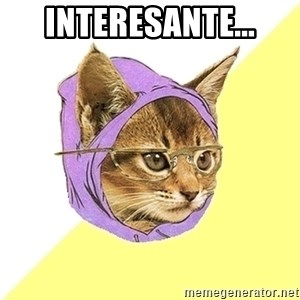 Hipster Kitty - INTERESANTE...