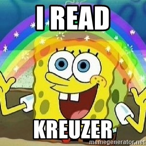 Imagination - I read kreuzer