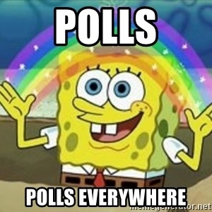 Bob esponja imaginacion - Polls polls everywhere