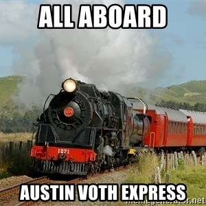 Success Train - ALL ABOARD Austin Voth Express